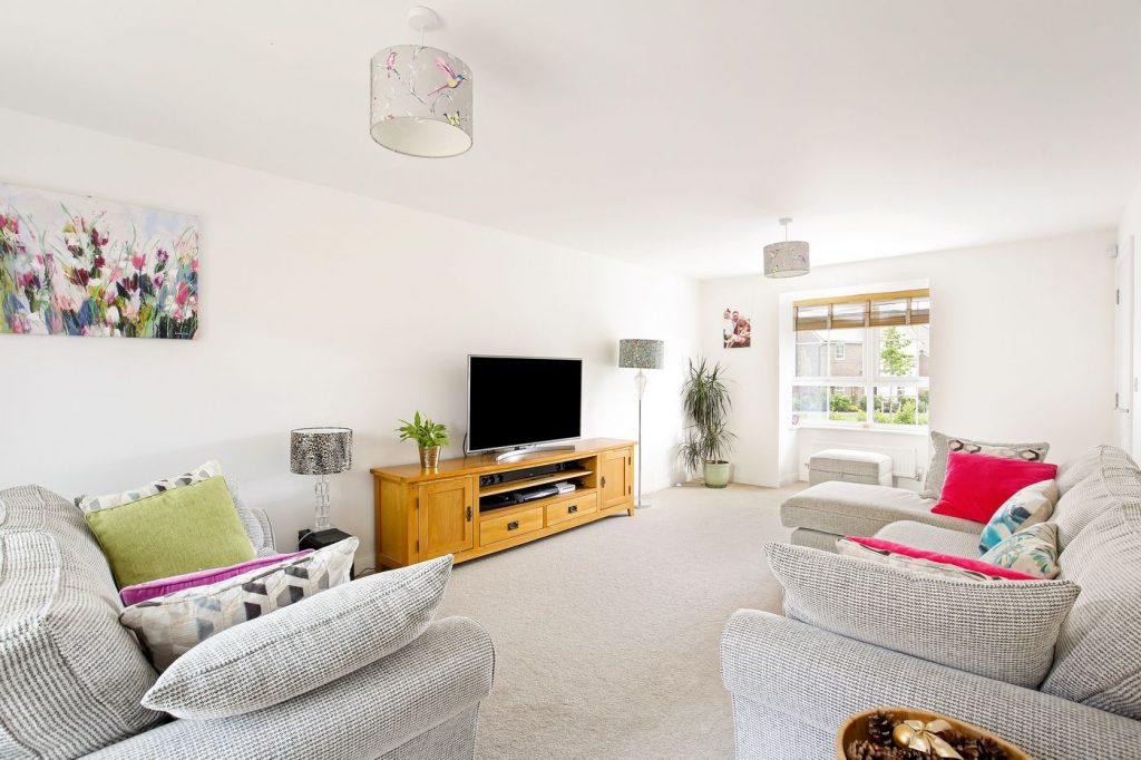 Rachel's living room